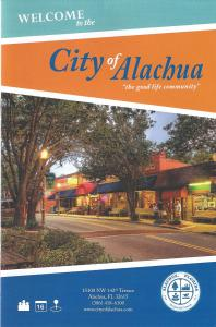 City Of Alachua, Florida Brochure Includes 3 Images By Lewis Mann